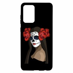 Чохол для Samsung A72 5G The girl in the image of the day of the dead
