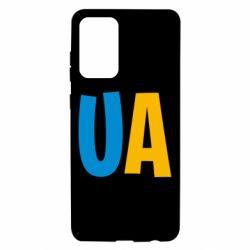 Чехол для Samsung A72 5G UA Blue and yellow