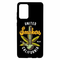 Чохол для Samsung A72 5G United smokers st relax California