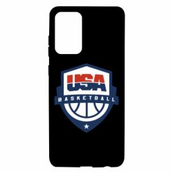 Чохол для Samsung A72 5G USA basketball