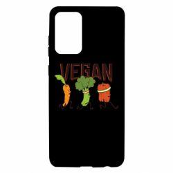 Чохол для Samsung A72 5G Веган овочі