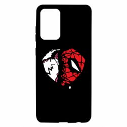 Чехол для Samsung A72 5G Venom and spiderman