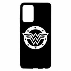 Чохол для Samsung A72 5G Wonder woman logo and stars