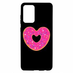 Чехол для Samsung A72 5G Я люблю пончик