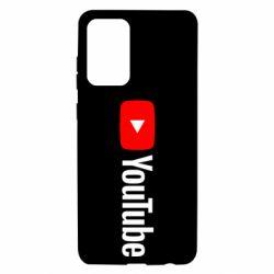Чехол для Samsung A72 5G Youtube logotype
