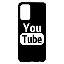 Чохол для Samsung A72 5G Youtube vertical logo