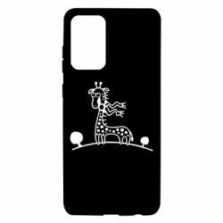 Чохол для Samsung A72 5G жираф