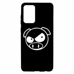 Чохол для Samsung A72 5G Зла свинка