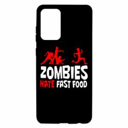 Чохол для Samsung A72 5G Zombies hate fast food