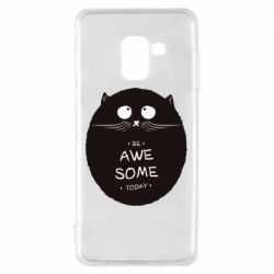 Чохол для Samsung A8 2018 Be Awesome Today!