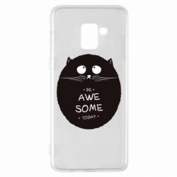 Чохол для Samsung A8+ 2018 Be Awesome Today!
