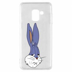 Чохол для Samsung A8 2018 Bugs Bunny Meme Face