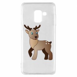 Чехол для Samsung A8 2018 Cartoon deer