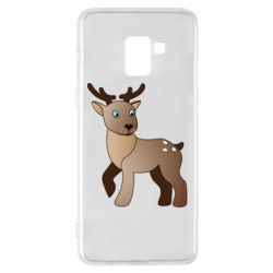 Чехол для Samsung A8+ 2018 Cartoon deer