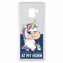 Чохол для Samsung A8+ 2018 Don't look at my horn