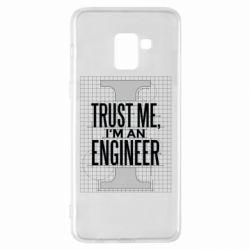 Чохол для Samsung A8+ 2018 Довірся мені я інженер