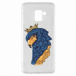 Чехол для Samsung A8+ 2018 Eagle with a crown on its head