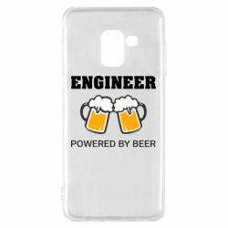 Чохол для Samsung A8 2018 Engineer Powered By Beer
