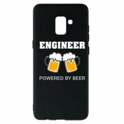 Чохол для Samsung A8+ 2018 Engineer Powered By Beer