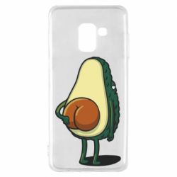 Чохол для Samsung A8 2018 Funny avocado