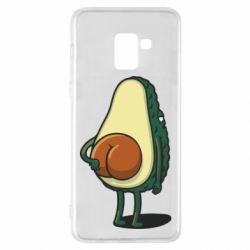 Чохол для Samsung A8+ 2018 Funny avocado