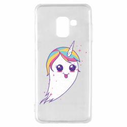 Чохол для Samsung A8 2018 Ghost Unicorn
