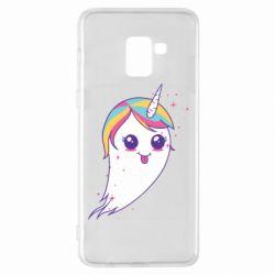 Чохол для Samsung A8+ 2018 Ghost Unicorn