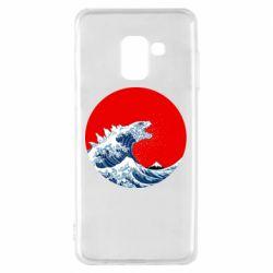Чохол для Samsung A8 2018 Godzilla Wave