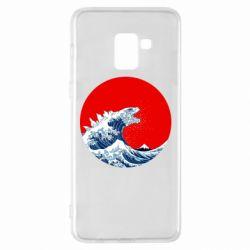 Чохол для Samsung A8+ 2018 Godzilla Wave