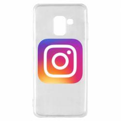 Чохол для Samsung A8 2018 Instagram Logo Gradient