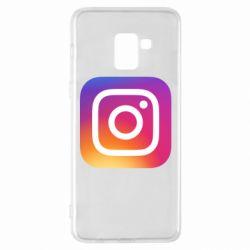 Чохол для Samsung A8+ 2018 Instagram Logo Gradient