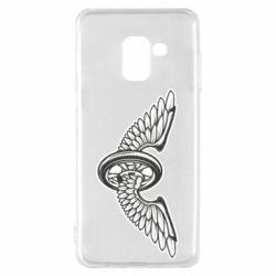 Чохол для Samsung A8 2018 Колесо та крила