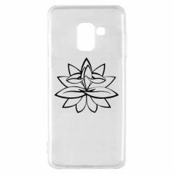 Чохол для Samsung A8 2018 Lotus yoga