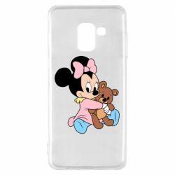Чохол для Samsung A8 2018 Minnie And Bear