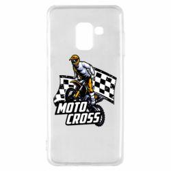 Чехол для Samsung A8 2018 Motocross