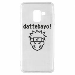 Чохол для Samsung A8 2018 Naruto dattebayo!