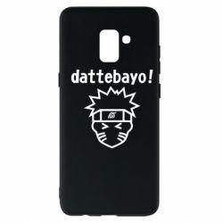 Чохол для Samsung A8+ 2018 Naruto dattebayo!