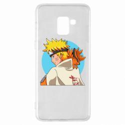 Чохол для Samsung A8+ 2018 Naruto Uzumaki Hokage