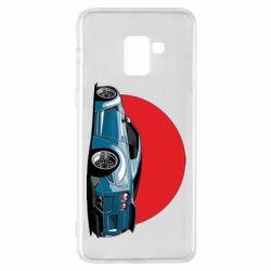 Чехол для Samsung A8+ 2018 Nissan GR-R Japan