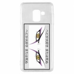 Чохол для Samsung A8 2018 Orochimaru's eyes