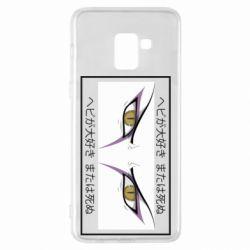 Чохол для Samsung A8+ 2018 Orochimaru's eyes