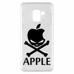 Чехол для Samsung A8 2018 Pirate Apple