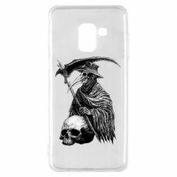 Чехол для Samsung A8 2018 Plague Doctor graphic arts