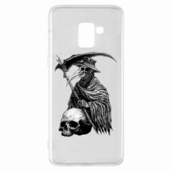 Чехол для Samsung A8+ 2018 Plague Doctor graphic arts