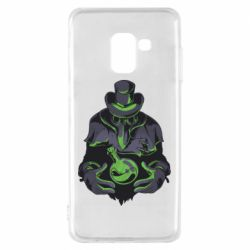 Чехол для Samsung A8 2018 Plague Doctor