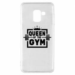 Чохол для Samsung A8 2018 Queen Of The Gym