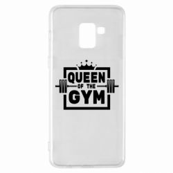 Чохол для Samsung A8+ 2018 Queen Of The Gym