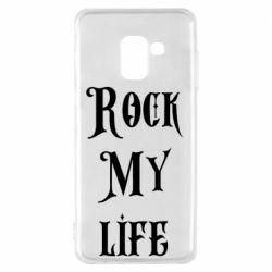 Чехол для Samsung A8 2018 Rock my life