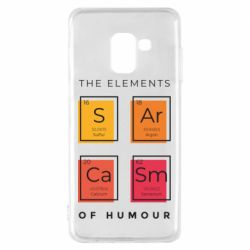 Чохол для Samsung A8 2018 Sarcasm