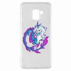 Чохол для Samsung A8+ 2018 Sisu Dragon Art
